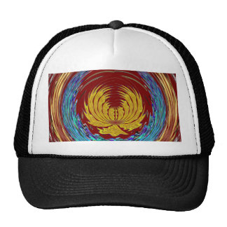 Golden EMBLEM of Growth with PEACE gift for all Trucker Hat