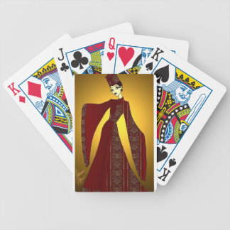 Golden Empress Bicycle Playing Cards