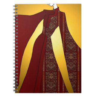 Golden Empress Notebook