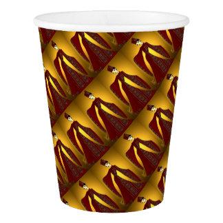Golden Empress Paper Cup