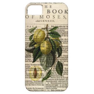 Golden Esperen Plum Flower iPhone 5 Case