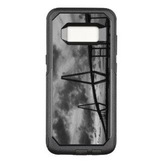 Golden Evening At Arthur Ravenel Grayscale OtterBox Commuter Samsung Galaxy S8 Case