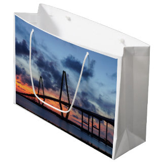 Golden Evening At Arthur Ravenel Large Gift Bag