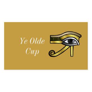 Golden Eye of Horus Pack Of Standard Business Cards