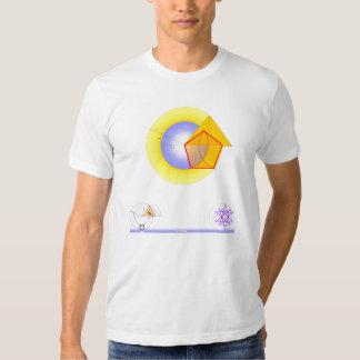 'Golden Eye on White' Shirt
