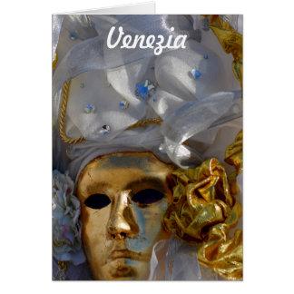 Golden Face Card