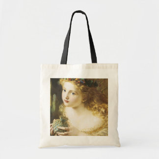 Golden Faerie Tote Bags