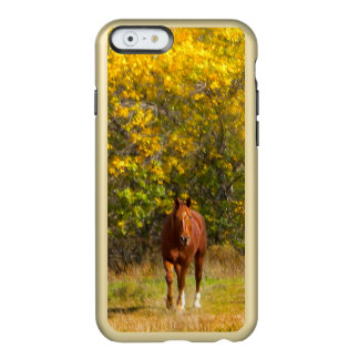 Golden Fall Horse Incipio Feather® Shine iPhone 6 Case