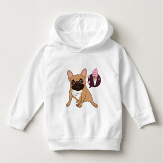 Golden Fawn French Bulldog wants an ice cream Hoodie