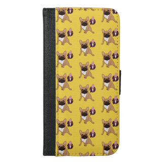 Golden Fawn French Bulldog wants an ice cream iPhone 6/6s Plus Wallet Case