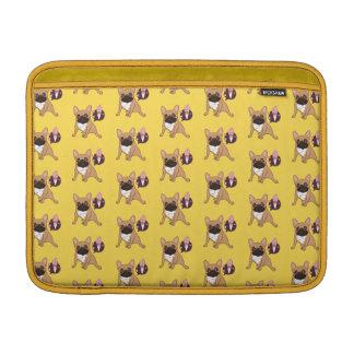 Golden Fawn French Bulldog wants an ice cream MacBook Sleeve