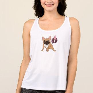 Golden Fawn French Bulldog wants an ice cream Tank Top