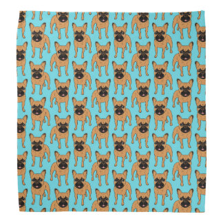 Golden Fawn Frenchie Bandana