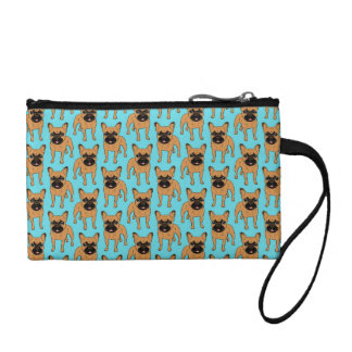 Golden Fawn Frenchie Coin Purse