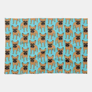 Golden Fawn Frenchie Kitchen Towel