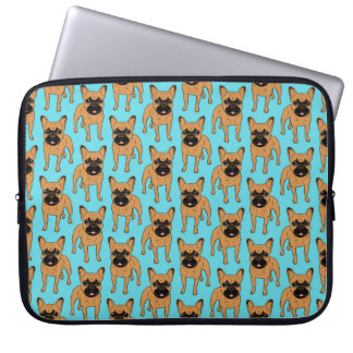 Golden Fawn Frenchie Laptop Sleeve