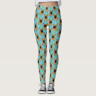 Golden Fawn Frenchie Leggings