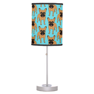 Golden Fawn Frenchie Table Lamp