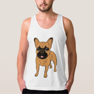 Golden Fawn Frenchie Tank Top