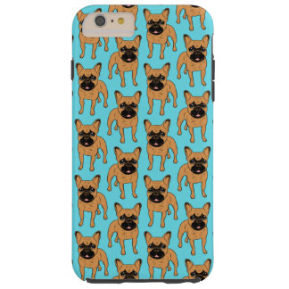 Golden Fawn Frenchie Tough iPhone 6 Plus Case