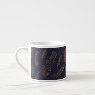 Golden Feather Design Espresso Cup