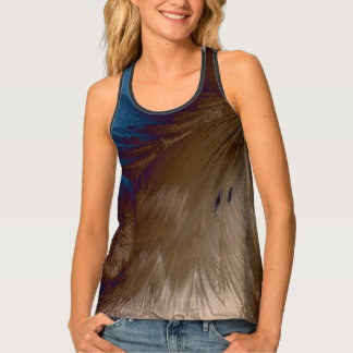Golden Feathers Tank Top