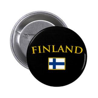 Golden Finland 2 Inch Round Button