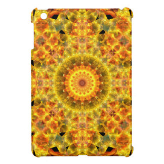 Golden Fire Mandala Cover For The iPad Mini