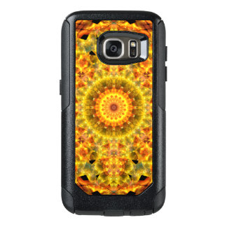 Golden Fire Mandala OtterBox Samsung Galaxy S7 Case