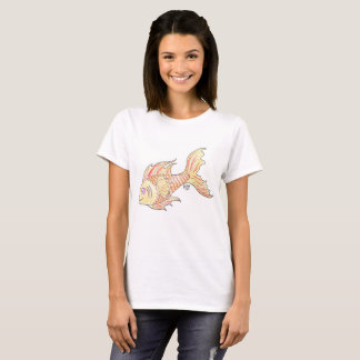 Golden fish t-shirt