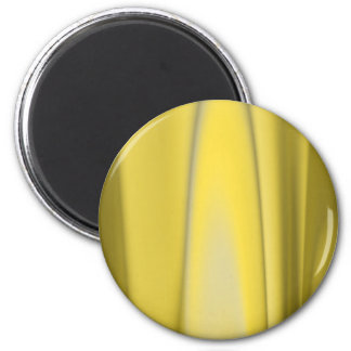 Golden Flame 2 Inch Round Magnet