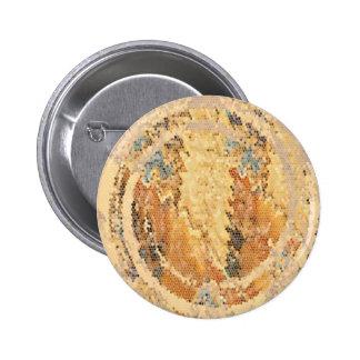 Golden Flame Coins 2010 2 Inch Round Button
