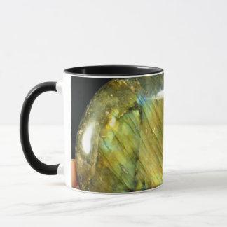 Golden Flash Labradorite Mug