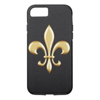 Golden Fleur De Lis iPhone 8/7 Case