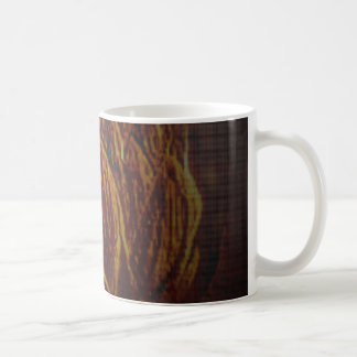 Golden Flower Coffee Mug