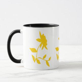 Golden Flower mug