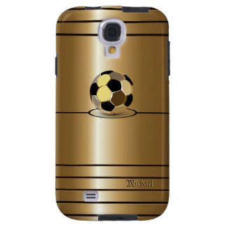 Golden Football Style Samsung Galaxy S4 Case