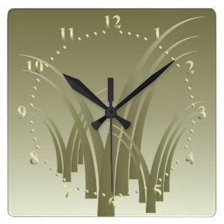 Golden forest clocks