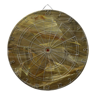 Golden Fractal Dart Board