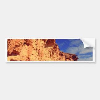 golden framed sky bumper sticker