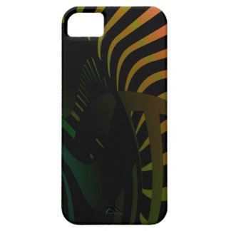 Golden Futurist iPhone 5 Case