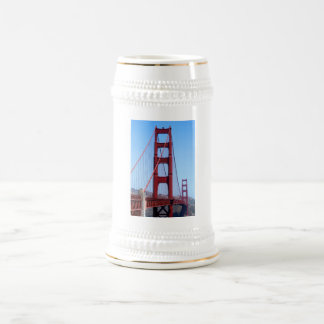 Golden Gate Beer Stein
