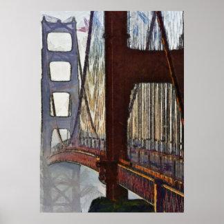 Golden Gate Bridge - 20x28 Poster