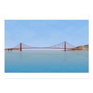 Golden Gate Bridge: 3D Model: Postcard