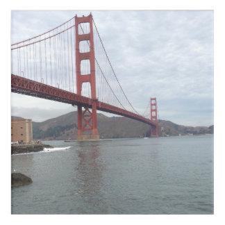 "Golden Gate Bridge Acrylic Wall Art (12"" x 12"")"