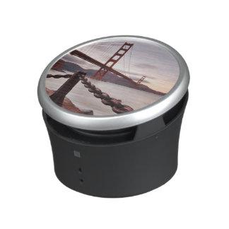 Golden Gate Bridge against mountains Speaker