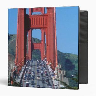 Golden Gate bridge and San Francisco Bay Vinyl Binders