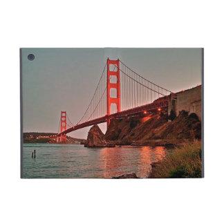 Golden Gate Bridge at Sun Down Cover For iPad Mini