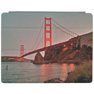 Golden Gate Bridge at Sun Down iPad Cover