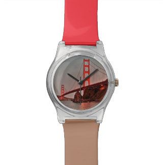 Golden Gate Bridge at Sun Down Wristwatches